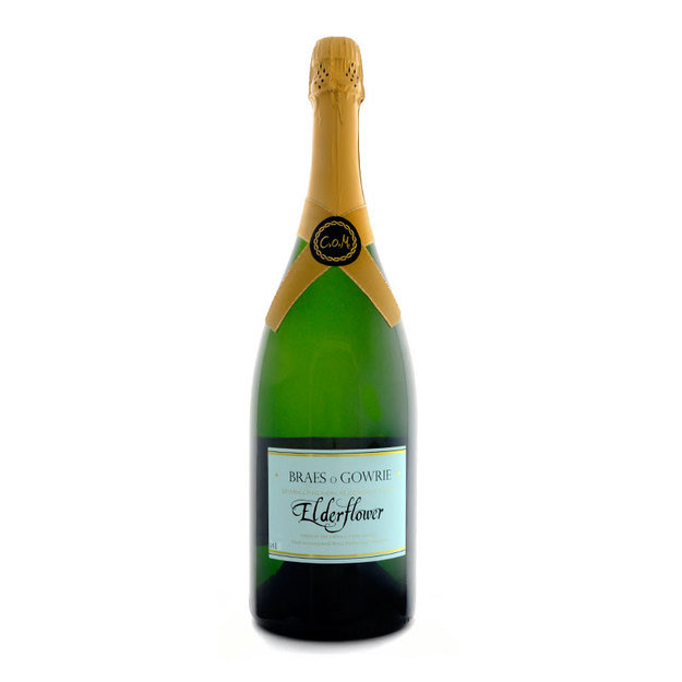 Braes o' Gowrie Sparkling Elderflower Magnum